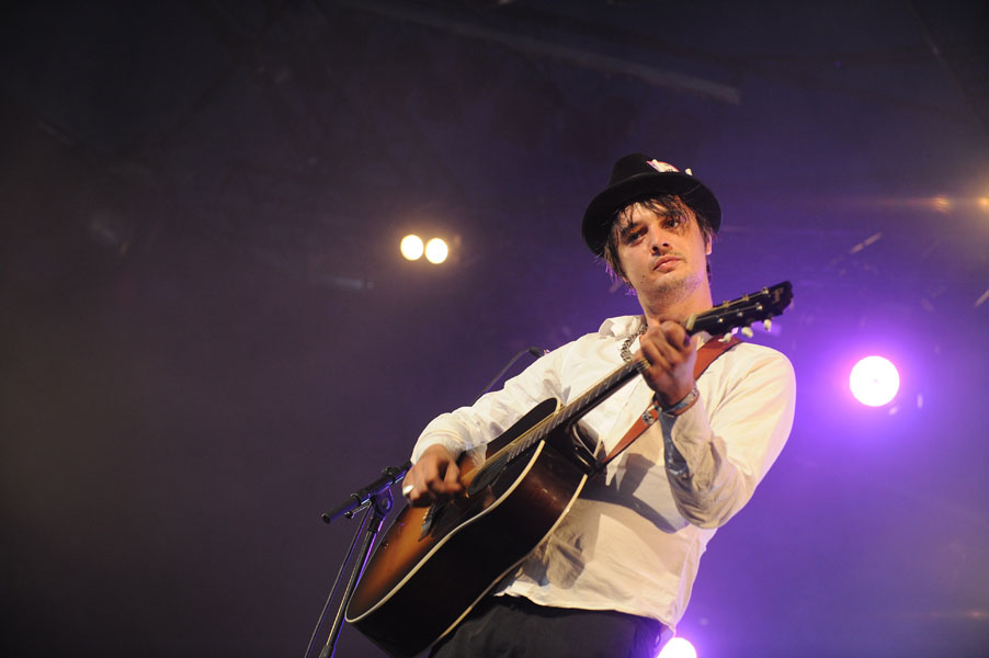 Pete Doherty performs at the Paleo Festival in Nyon, Switzerland.