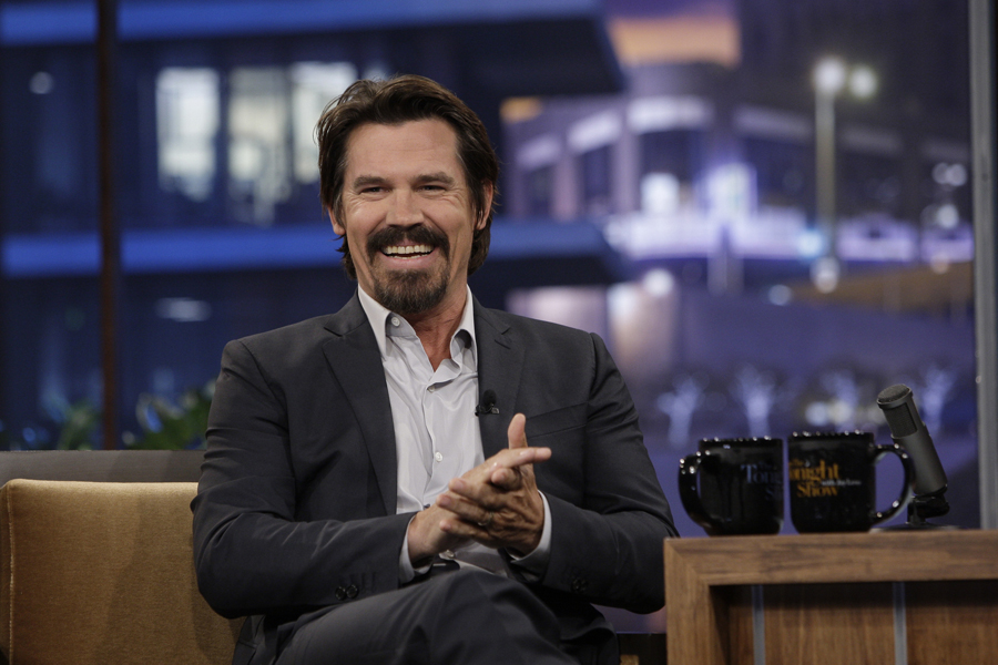 THE TONIGHT SHOW WITH JAY LENO -- Episode 3844 -- Pictured: Actor Josh Brolin during an interview on June 14, 2010 -- Photo by: Paul Drinkwater/NBCU Photo Bank