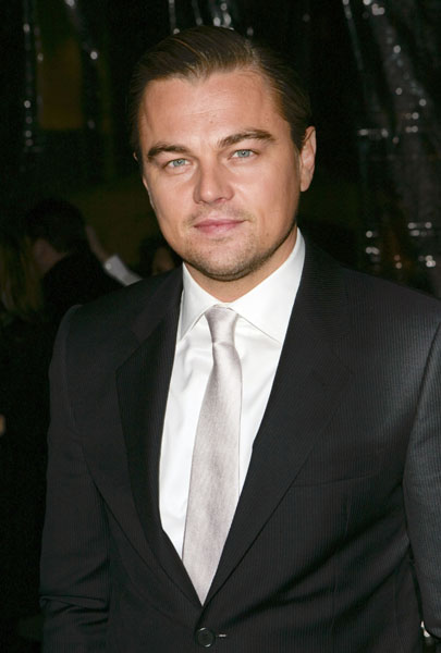 Actor Leonardo DiCaprio at the 'Shutter Island' special screening at the Ziegfeld Theatre in New York, USA