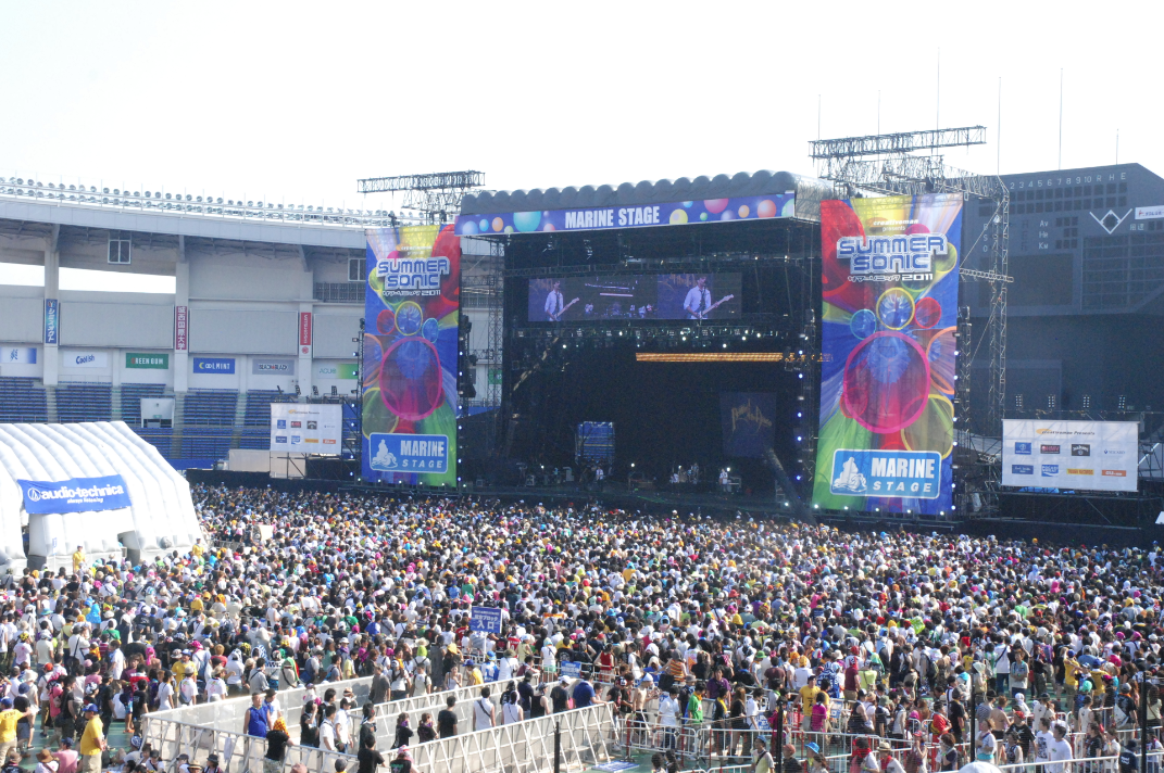 """Résultat de recherche d'images pour """"summer sonic stage"""""""