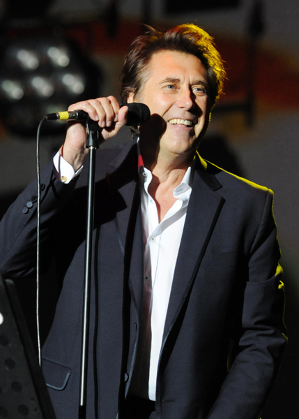 Bryan Ferry of Roxy Music performs at Lovebox, Victoria Park, London.