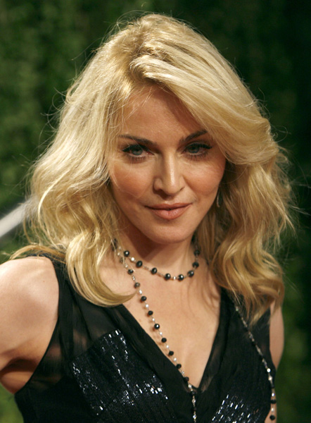 Madonna arrives at the 2009 Vanity Fair Oscar Party in West Hollywood, California February 22, 2009. Danny Moloshok /Landov