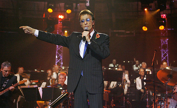 Robin Gibb performs at the BBC Electric Proms 2008 - Saturday Night Fever at the Roundhouse, Chalk Farm, London.