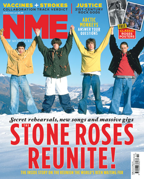 Stone Roses NME Cover