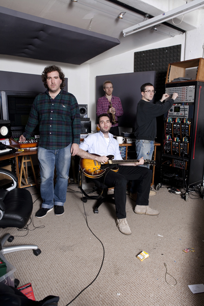 Hot Chip in their London Studio 05.11.09