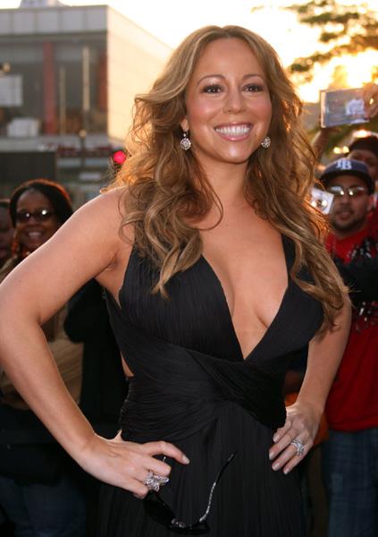 Mariah Carey leaving her New York City apartment, June 8, 2009.