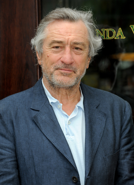 Actor and restauranteur Robert De Niro participates in the 9/11 Memorial 'Signs of Support' press event at Locanda Verde on Thursday, June 24, 2010 in New York. Signs of Support is a program that welcomes participating businesses to publicly show their support of the 9/11 Memorial by proudly displaying a special decal on their front doors or windows.