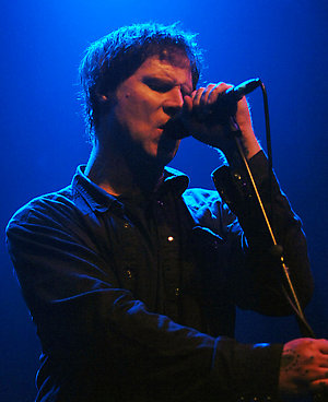 Mark Lanegan of The Gutter Twins in concert at Koko in London.