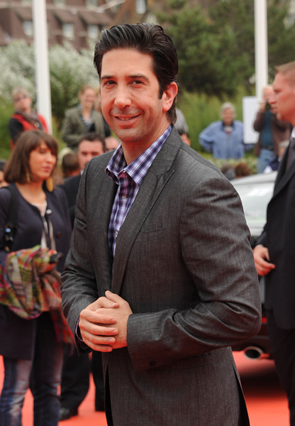 US actor David Schwimmer arrives at the 'Trust' Premiere during the 37th Deauville Film Festival on September 8, 2011 in Deauville, France.  # 288828_015