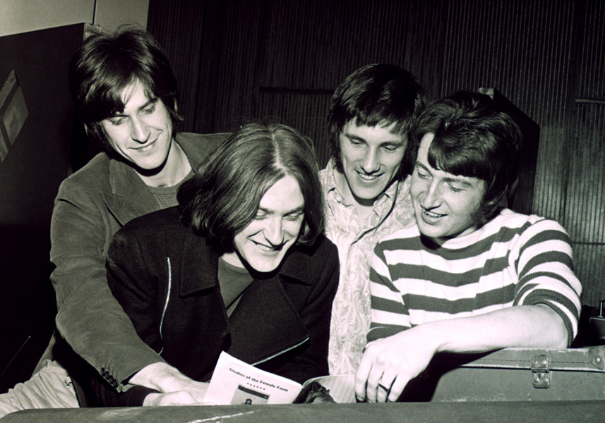 English pop group The Kinks