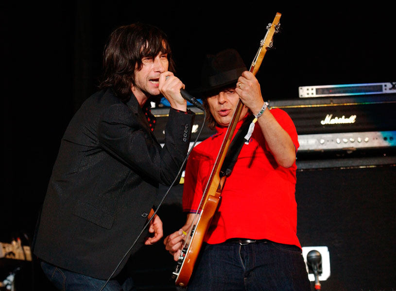 Primal Scream bid farewell to Mani at Edinburgh Hogmanay gig