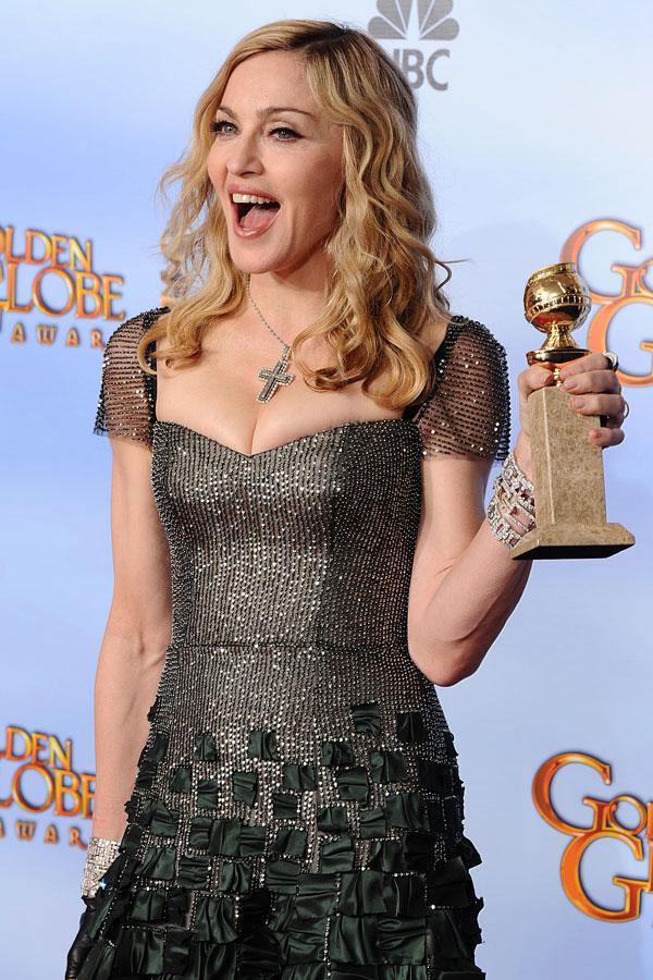 Madonna Scoops Best Original Song Award At The Golden