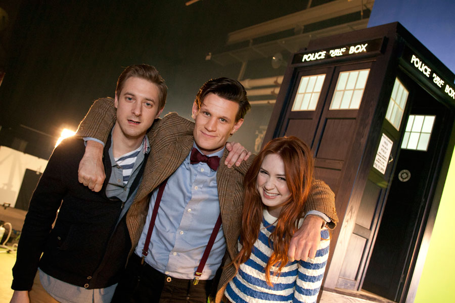 Risultati immagini per doctor who rory williams e amy