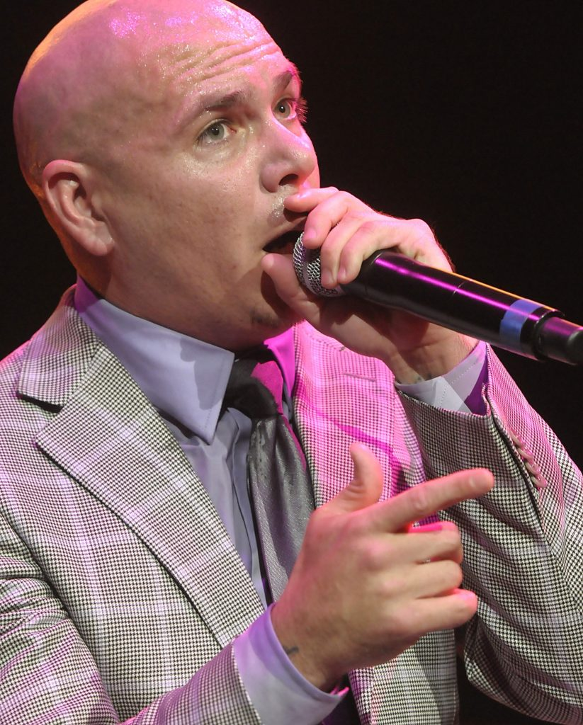 Singer Pitbull performs at KIIS FM's Wango Tango in Los Angeles on Saturday, May 14, 2011. (AP Photo/Dan Steinberg)