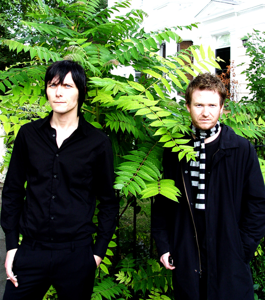 Picture By: Heike Schneider-Matzigkeit / www.rmusic.co.uk / Retna Pictures - Picture Shows: Portrait of Jaime Harding and Phil Cunningham of UK indie band Marion photographed in Belsize Park, London. 19th September 2006. Job: 22503 Ref: HST - Non-Exclusive UK Rights Only *Unbylined uses will incur an additional discretionary fee!*