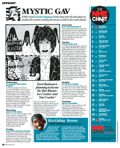 Mumfords Takeover - Inside This Week's NME - NME