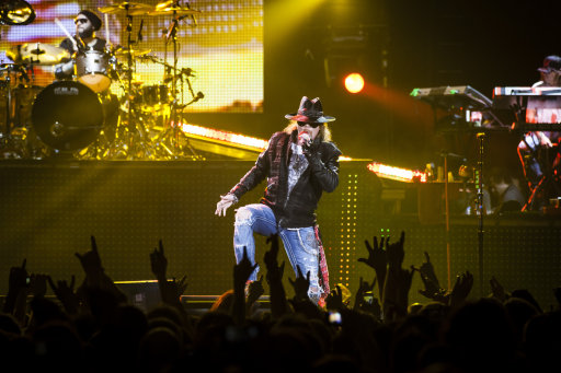 Guns N Roses in concert at the Capital FM Arena - Nottingham, United Kingdom