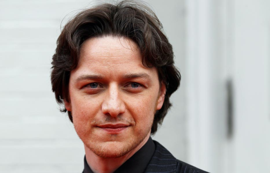 James McAvoy signs on ...