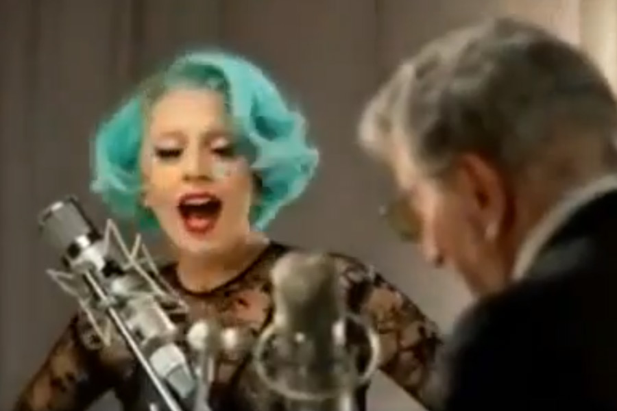 Watch Tony Bennett and Lady Gaga duet 'Lady Is A Tramp' - video - NME