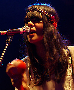 Bat For Lashes live in concert at the ULU in London on February 28, 2007.