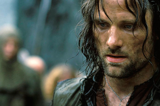 Aragorn in Lord of the Rings Beren and Luthien