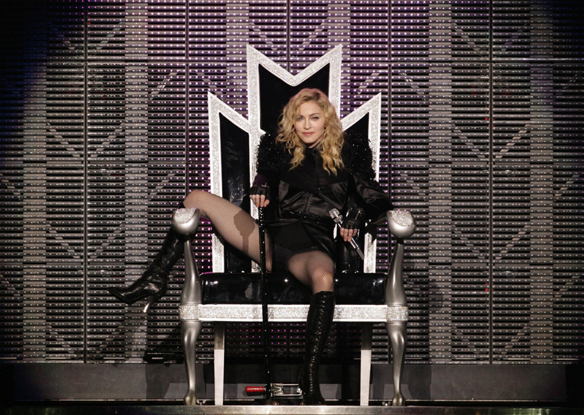 Madonna unveils black and white 'Girl Gone Wild' video