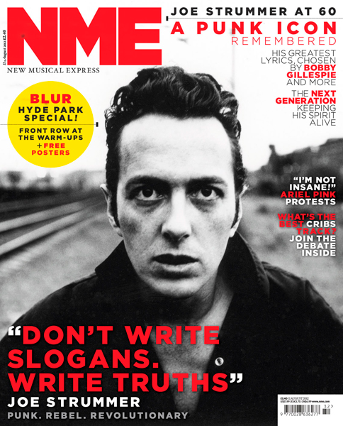Image result for nme joe strummer