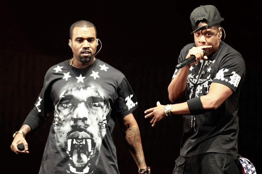 Image result for Watch The Throne Kanye and Jay Z