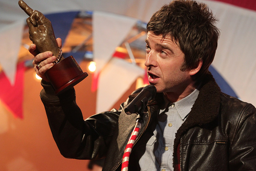 Noel Gallagher at the NME Awards 2012