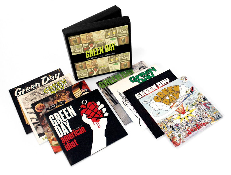 Green Day to re-release all of their studio albums in new