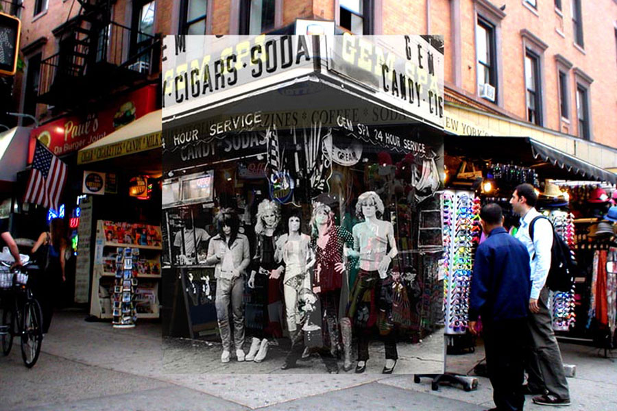 New York Dolls cover