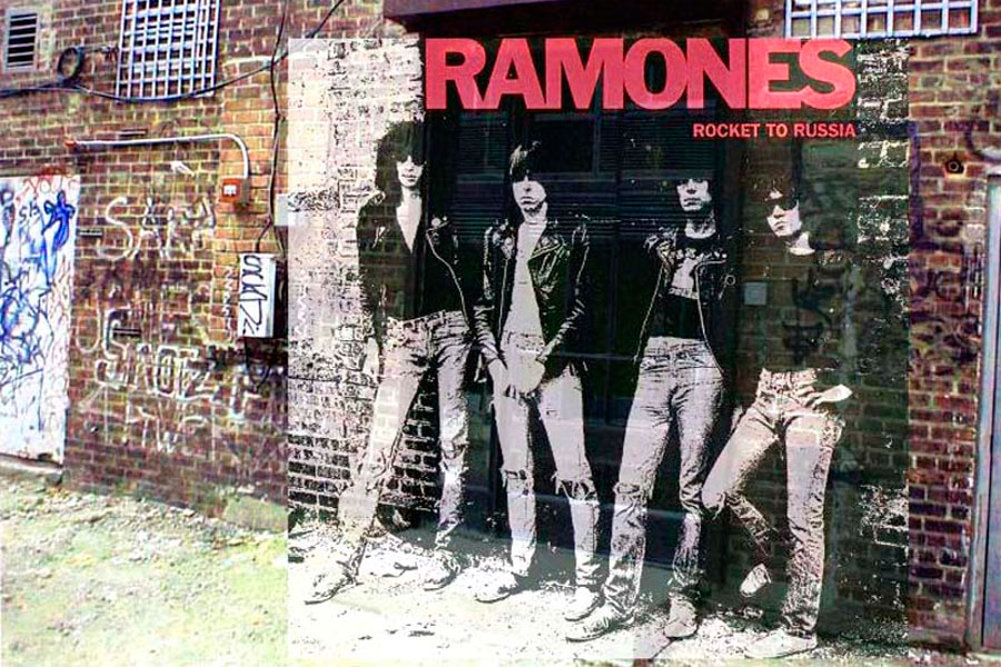 Album Sleeves In Their Original Locations - NME