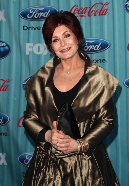 Sharon Osbourne attending the American Idol Top 13 Party held at Area in West Hollywood, CA.