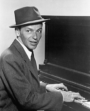 A 1957 publicity portrait of singer Frank Sinatra. (AP Photo/Capitol Records)