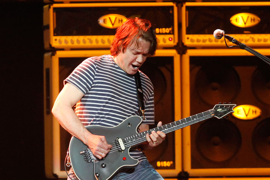 Eddie Van Halen Named Greatest Guitarist Of All Time By