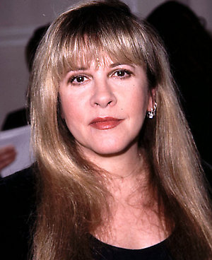 Stevie Nicks, attends the 44th annual Grammy awards nominations held at the Beverly Hilton Hotel,in Beverly Hills, California.