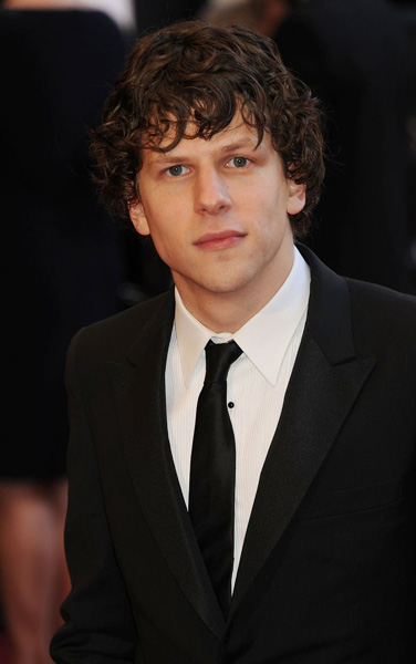 Jesse Eisenberg attends the 83rd Annual Academy Awards held at the Kodak Theater in Hollywood, CA on Sunday, February 27, 2010.(AP Photo/Jennifer Graylock)