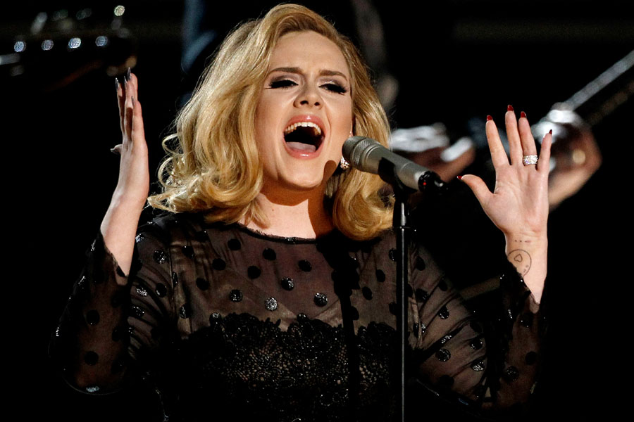Adele recorded 'Skyfall' in 10 minutes, according to producer Paul