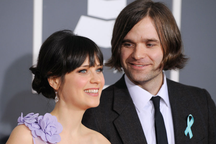She And Him\'s Zooey Deschanel and Death Cab For Cutie\'s Ben Gibbard ...