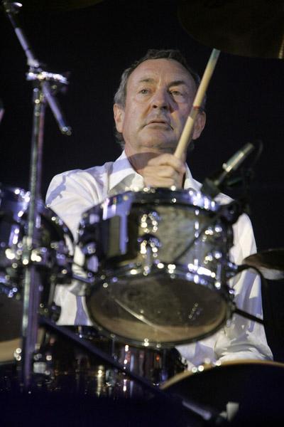 Nick Mason of Pink Floyd.