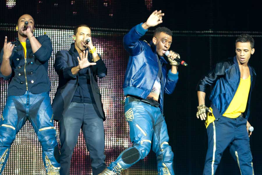 JLS named UK's hardest-working band of 2012 - for playing 34