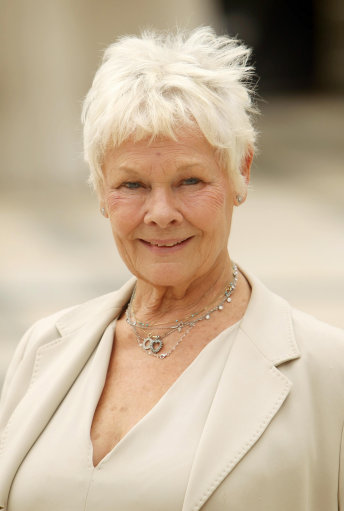 File photo dated 21/06/11 of Oscar-winner Dame Judi Dench who has revealed she has been diagnosed with a condition that can lead to blindness.