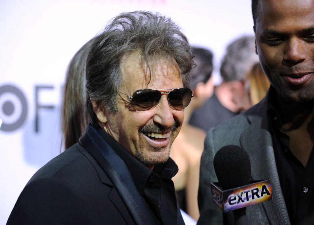 "Al Pacino attends the HBO Film's ""You Don't Know Jack"" premiere at the Ziegfeld Theatre in New York on April 14, 2010."