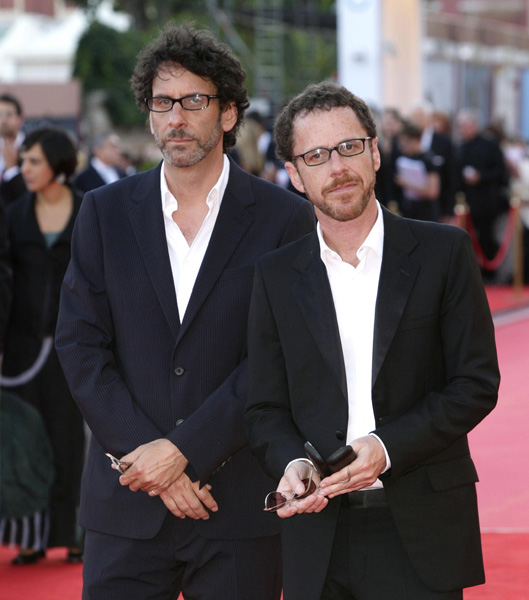 AP OUT Director and producer of the film Joel and Ethan Coen attend the opening night screening for Burn After Reading, at the 65th Venice Film Festival, Venice, Italy.