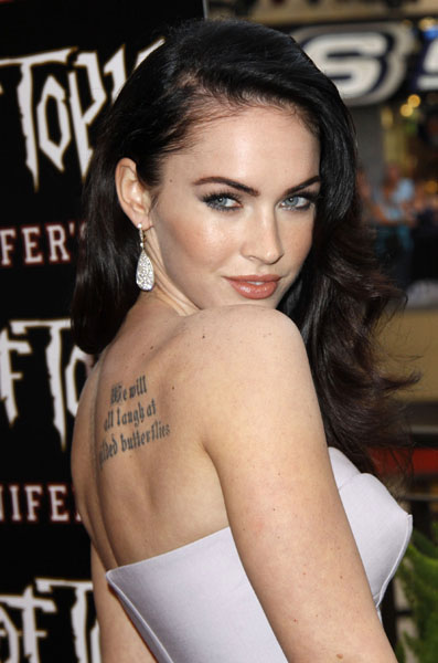 """Megan Fox arrives for """"Jennifer's Body"""" Fan Event held at Hollywood & Highland Complex in Los Angeles, California"""