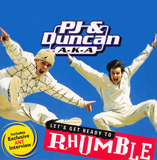 PJ & Duncan top the Official UK Singles Chart with 'Let's Get Ready To Rhumble'