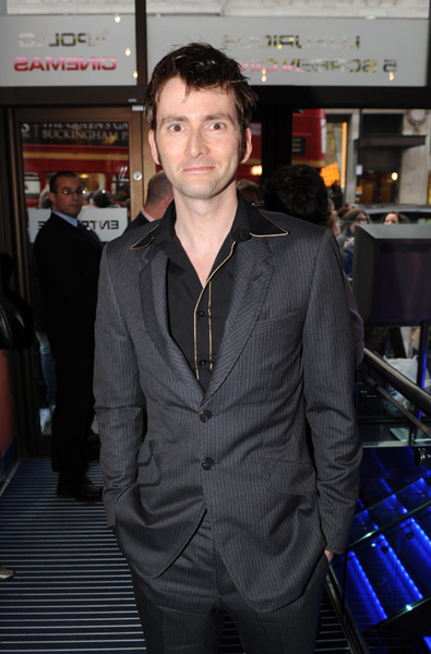 File photo dated 01/04/08 of Doctor Who star David Tennant who has announced he is quitting the show.