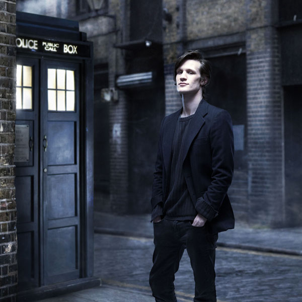 **THIS IMAGE IS UNDER STRICT EMBARGO UNTIL 18:10 HOURS SATURDAY 3RD JANUARY 2009**Picture Shows: MATT SMITH - the eleventh DOCTOR WHO(not in costume)