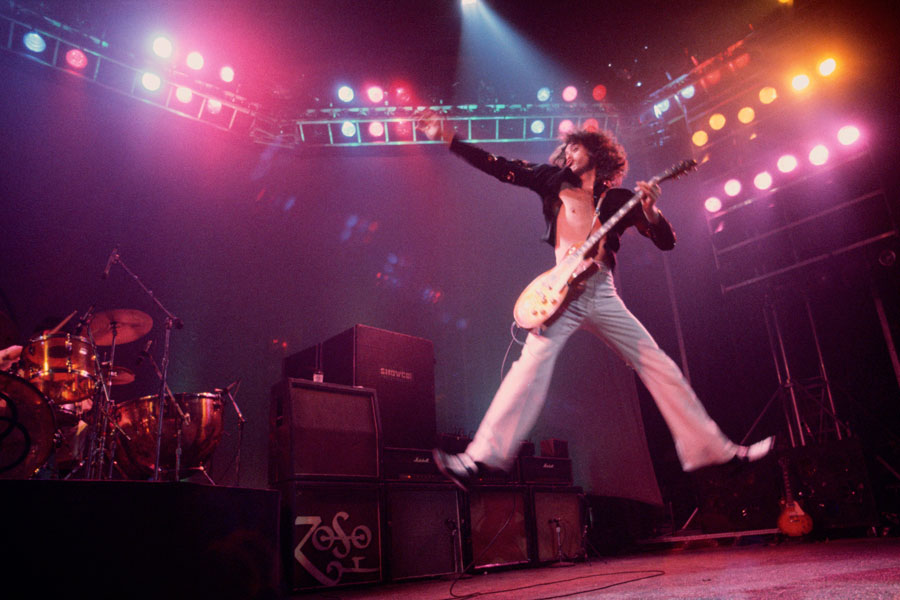 11 incredible images of led zeppelin on tour nme. Black Bedroom Furniture Sets. Home Design Ideas