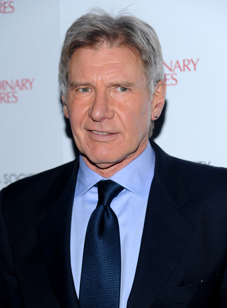 Actor Harrison Ford attends a screening of 'Extraordinary Measures' hosted by The Cinema Society on Thursday, Jan. 21, 2010 in New York. (AP Photo/Evan Agostini)